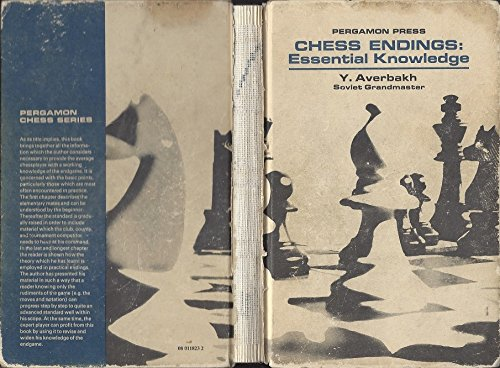 9780080320502: Chess Endings: Essential Knowledge