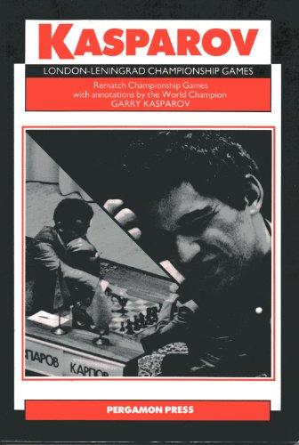 9780080320540: London-Leningrad Championship Games (Russian Chess)