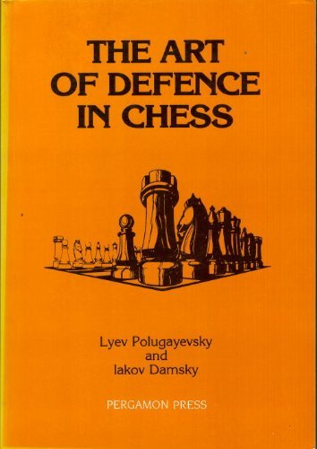 9780080320588: Art of Defence in Chess (Pergamon Russian Chess)