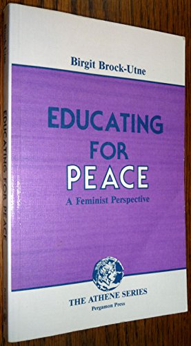 9780080323695: Educating For Peace