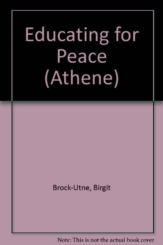 9780080323701: Educating for Peace (Athene)