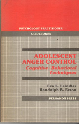9780080323732: Adolescent Anger Control (Psychology Practitioner Guidebooks)