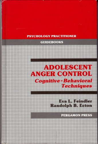 9780080323749: Adolescent Anger Control (Psychology practitioner guidebooks)