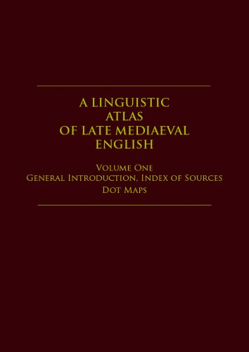 9780080324371: A Linguistic Atlas of Late Mediaeval English (4 Vol Set)