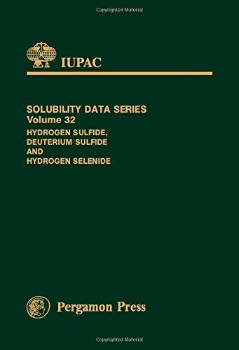 9780080324814: Hydrogen Sulfide, Deuterium Sulfide and Hydrogen Selenide (Solubility Data Series)