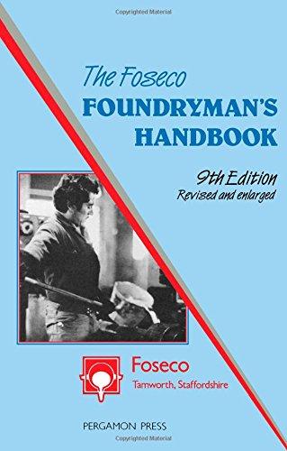 9780080325491: Foundryman's Handbook