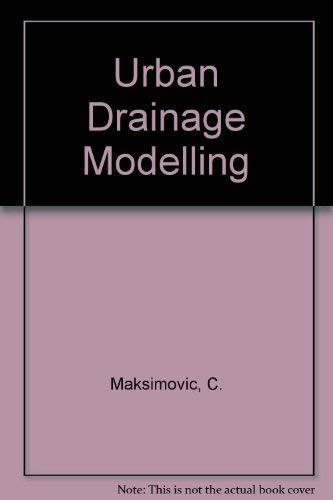 9780080325583: Urban Drainage Modelling