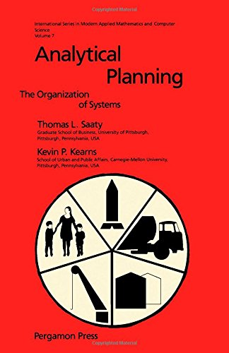 9780080325996: Analytical Planning: The Organization of Systems (International Series in Modern Applied Mathematics and Computer Science, Vol 7)