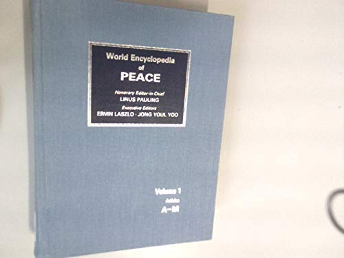 9780080326856: World Encyclopedia of Peace (4 Volume Set)