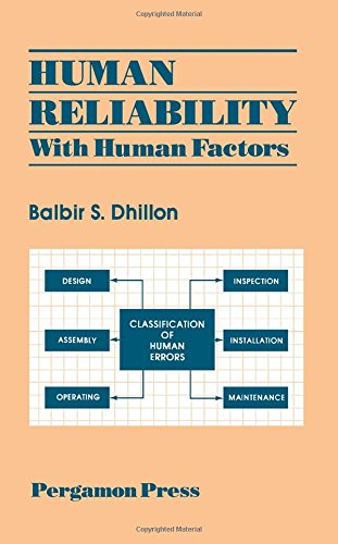 9780080327747: Human Reliability: With Human Factors