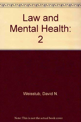 9780080327815: Law and Mental Health: 2