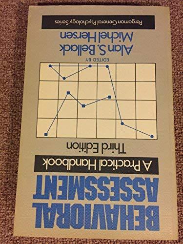 9780080327952: Behavioural Assessment: A Practical Handbook (General Psychology)