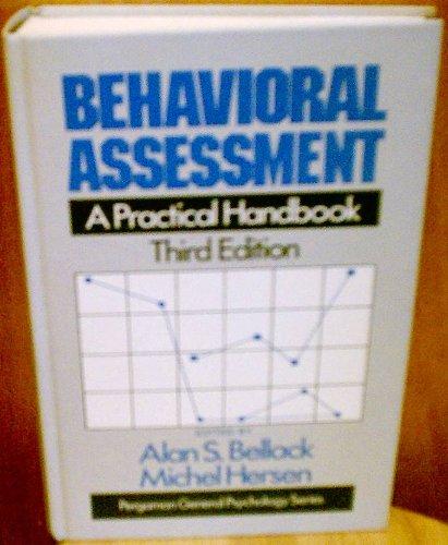9780080327969: Behavioral Assessment: A Practical Handbook (General Psychology)