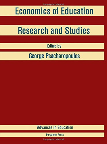 9780080333793: Economics of Education: Research and Studies (Advances in education)