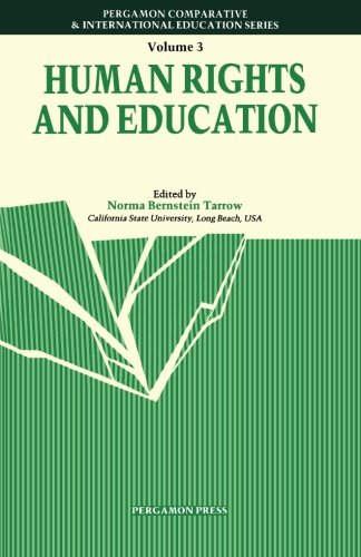 9780080334158: Human Rights & Education (Comparative and International Education)