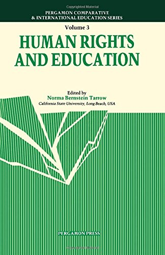 9780080338873: Human Rights and Education (Comparative and International Education Series)
