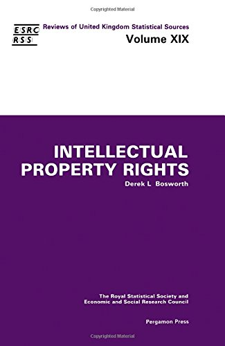 9780080339023: Intellectual Property Rights (Reviews of United Kingdom Statistical Sources)