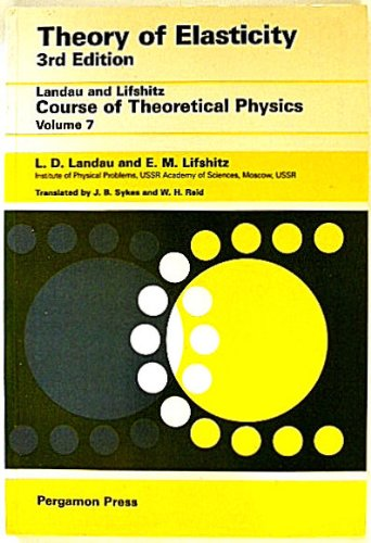 9780080339160: Theory of Elasticity (Course of Theoretical Physics) by L.D. Landau; L.P. Pit...
