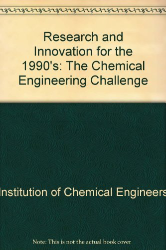 9780080339276: Research and Innovation for the 1990's: The Chemical Engineering Challenge
