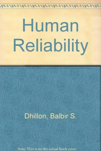 9780080339818: Human Reliability: With Human Factors