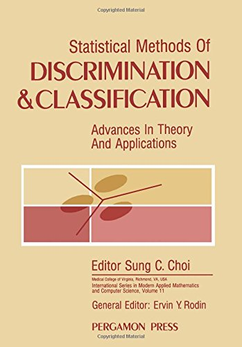 9780080340005: Statistical Methods of Discrimination and Classification