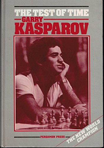 9780080340432: The Test of Time (Pergamon Russian Chess Series)