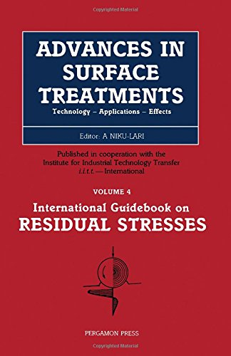 9780080340623: Advances in Surface Treatments: Technology, Applications, Effects : Residual Stresses (Advances in Surface Treatemnts)
