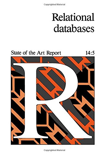 9780080340944: Relational Data Base Systems (State of the art report)