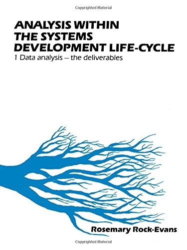 9780080341002: Analysis Within the Systems Development Life-Cycle: Book 1, Data Analysis-The Deliveries (v. 1)