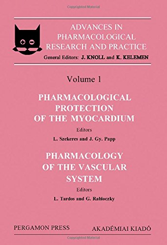 9780080341903: Pharmacological Protection of the Myocardium, Section 1: Pharmacology of the Vascular System, Section 2 (Advances in Pharmacological Research and Pr)