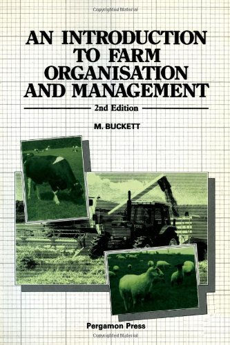 9780080342030: An Introduction to Farm Organization and Management