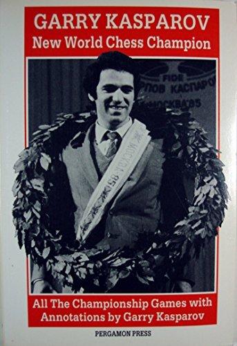 Garry Kasparov New World Chess Champion