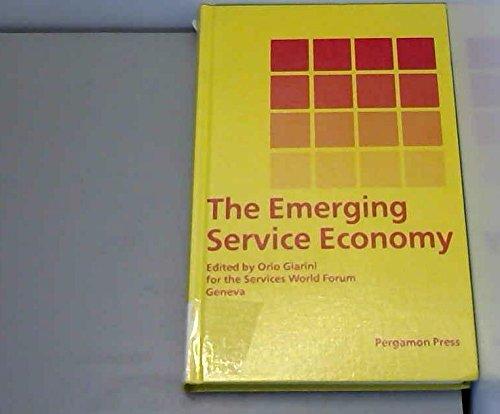 9780080342702: The Emerging Service Economy