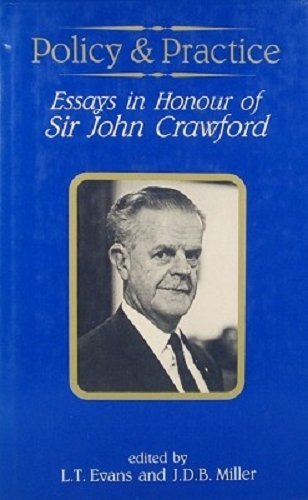 9780080343907: Policy and Practice: Essays in Memory of Sir John Crawford