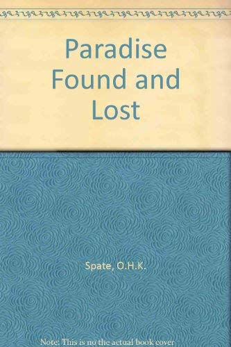 9780080344003: Paradise Found and Lost