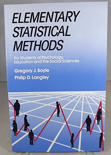 Elementary Statistical Methods : For Students of Psychology ...