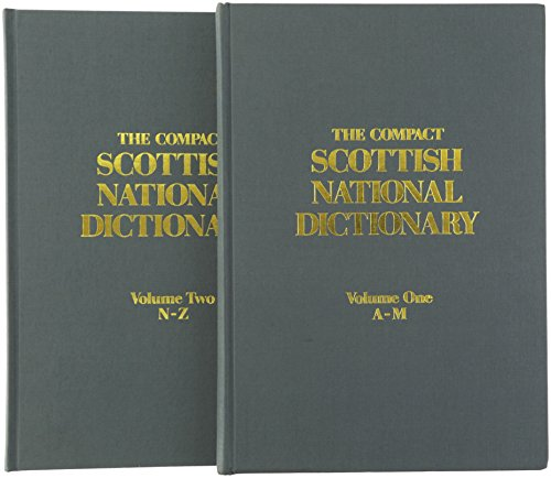 9780080345185: The Compact Scottish National Dictionary