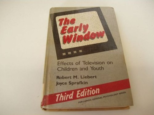 9780080346809: Early Window: Effects of Television on Children and Youth (General Psychology)