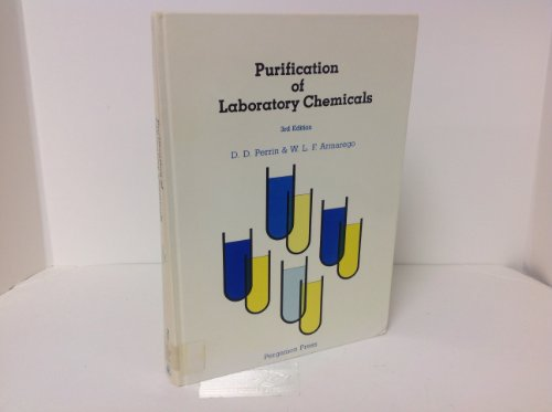 9780080347158: Purification of Laboratory Chemicals