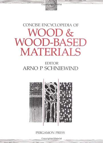 9780080347264: Concise Encyclopedia of Wood & Wood-Based Materials (Advances in Materials Sciences and Engineering)