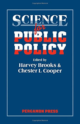 9780080347707: Science for Public Policy