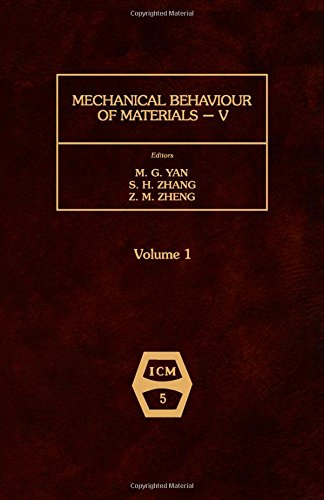 9780080349121: Mechanical Behaviour of Materials 1987: 5th: International Conference Proceedings. TWO VOLUMES