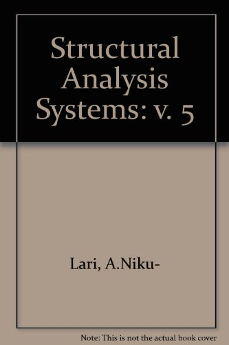 9780080349190: Structural Analysis Systems: v. 5