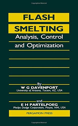 9780080349251: Flash Smelting: Analysis, Control and Optimization