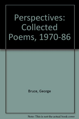9780080350622: Perspectives: Poems 1970-1986