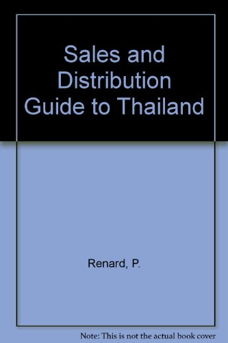 9780080358376: Sales and Distribution Guide to Thailand