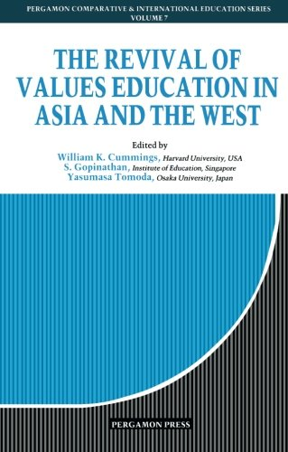 9780080358536: The Revival of Values Education in Asia & the West (Comparative and International Education Series)