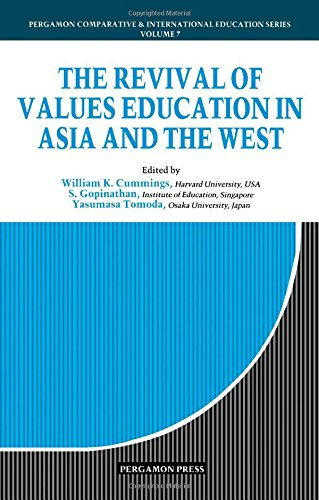 9780080358543: The Revival of Values Education in Asia and the West (Comparative and International Education Series)
