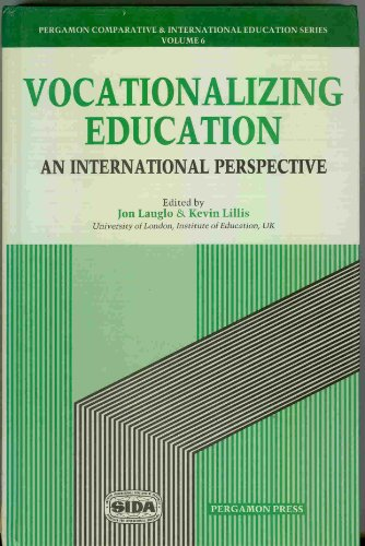9780080358550: Vocationalizing Education - An International Perspective (Comparative and International Education Series)