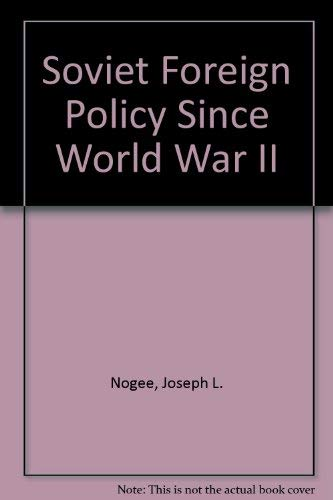 9780080358864: Soviet Foreign Policy Since World War II